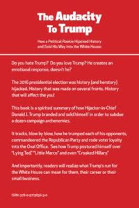 Audacity of Trump Back Cover